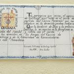 Der Beginn des Camino Mozarabe in Granada