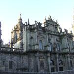 die Kathedrale von der Seite...