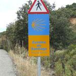 Warnung vor Pilgern...
