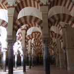 In der Mezquita von Cordoba