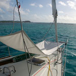 """""""Raincatcher"""" gibt es auf vielen Booten.....jetzt auch bei uns."""