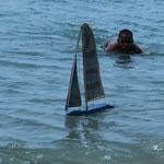 Früh übt sich......   Auf Petit-Martinique / Grenada