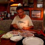 Fischfilets für 4 oder 5 Tage