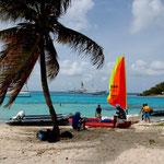 gemütliches Treiben in den Tobago-Kays
