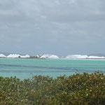 Noch immer wird auf Bonaire Salz gewonnen