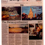 Pedro Meier: The Swiss synthesiser – Scenes of Thailand. Exhibition Narai Contemporary Art Gallery Bangkok. Opening by André Regli, Embassy of Switzerland Bangkok. Darryl Pollard: Bangkok Post 7.9.1986. Pedro Meier Niederbipp. BACC Thailand, Swiss Society