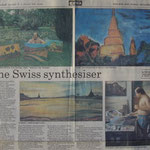 Pedro Meier: The Swiss synthesiser – Scenes of Thailand. Exhibition Narai Contemporary Art Gallery Bangkok. Opening by André Regli, Embassy of Switzerland Bangkok. Darryl Pollard: Bangkok Post 7.9.1986. Pedro Meier Bangkok BACC Thailand, Swiss Society