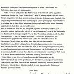 Pedro Meier im Kunstmuseum Olten, Solo-Ausstellung, »Aschenbilder – Anmerkungen zu Rembrandt – Paraphrasen – Randmarken«, 3.11 bis 4.12.1994. Vernissagerede Peter Killer Konservator Kunstmuseum Olten. Pedro Meier, Niederbipp. Visarte, SIKART Zürich – 3/3