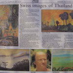 Pedro Meier, Swiss images of Thailand, Nai Lert Park Gallery at Hilton. Press Report by Roger Crutchley, Bangkok Post, 12.11.1989. Opening speech by the Ambassador of Switzerland, Embassy of Switzerland Bangkok. Archiv © Pedro Meier Multimedia Artist