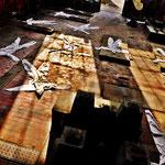 Pedro Meier Art – »Body Counting Nr. 22« – »Vor Jahren arbeiteten hier Menschen« – Performance / Installation – ArtCampus 2016 – Attisholz – Switzerland – Photo  © Pedro Meier – Swiss-German Multimedia Artist – Gerhard Meier-Weg Niederbipp, Bangkok, Olten