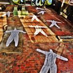 Pedro Meier Art – »Body Counting Nr. 23« – »Vor Jahren arbeiteten hier Menschen« – Performance / Installation – ArtCampus 2016 – Attisholz – Switzerland – Photo  © Pedro Meier – Swiss-German Multimedia Artist – Gerhard Meier-Weg Niederbipp, Bangkok, Olten
