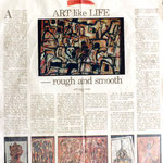 Pedro Meier at Montien Gallery »Art like Life – rough and smooth«, Exhibition 700 Years of Switzerland, Gilbert Leu Artist. Janet Wijayasinha:The Nation, Bangkok, 2.5.1991. Pedro Meier: Niederbipp, Olten Kunsthalle, Bangkok Art Group BACC Thailand. SIKART
