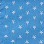 Ste08 - weiße Sterne auf hellblau