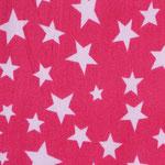Ste02 - weiße Sterne auf pink