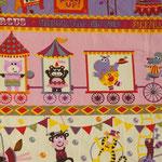 M17 - Circus rosa, gelb - Nur noch Reste verfügbar!