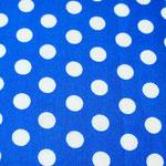 P03 - große Tupfen auf royalblau