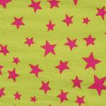 Ste04 - pinke Sterne auf limette