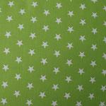Ste06 - weiße Sterne auf kiwi