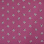 Ste01 - weiße Sterne auf rosa