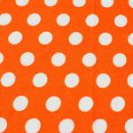 P02 - große Tupfen auf orange