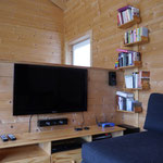 LED TV, BluRay Soundsystem und WLan