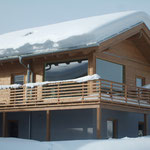 Chalet Annaberg im Winter