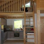 Küche und Galerie