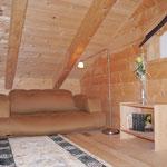 Comfortable sleeping sofa in the gallery (140x200)