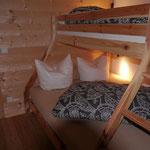 Schlafzimmer 3 mit Doppel- und Etagenbett