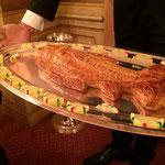 ボリュームのあるフランス料理