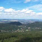 Blick vom Hochwald