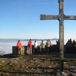 Fernsicht vom Hochwald ins Riesengebirge