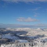 Wintermärchen im böhmischen Becken