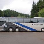 Busbeschriftung vollverklebt mit 3M Serie 80 Carwrapfolien und Chromfolie