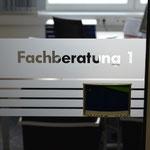 Lagerhausgenossenschaft Pregarten/Gallneukirchen - Sandstrahlfolien mit Schriftzug