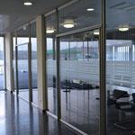 Lagerhausgenossenschaft Pregarten/Gallneukirchen - Sandstrahlfolien