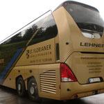 Busbeschriftung vollverklebt mit 3M Serie 80 Carwrapfolien