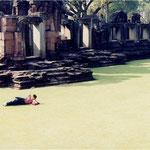 タイ、ピマーイの遺跡