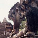 タイ、パノムルンの遺跡