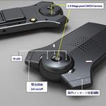 前方/室内 2CH(HD)選択撮影機能 (音声録音選択)