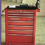 Fahrbarer Werkzeugcontainer