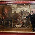 Le Spectacle de la Folie humaine, Glaize Auguste, 1872, huile sur toile /JH