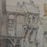 Maison de François 1er, rue des Tanneurs,  © Musée d'Abbeville