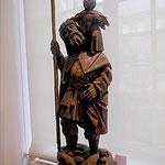 Saint Christophe, sculpture sur bois, XVe, Artois /JH