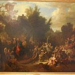 L'entrée du Christ à Jérusalem, Largillière Nicolas de, fin XVIIe, huile sur toile/ JH