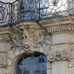 Détail de la façade de l'Hôtel Sandelin, © Joëlle Henocq