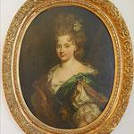 Portrait de madame la comtesse de Montesquiou, Largillière Nicolas de, fin XVIIe, huile sur toile /JH