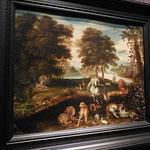 Le Paradis terrestre, Brueghel Jan I, XVIIe, huile sur cuivre /JH
