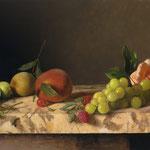"Carlo Russo, ""Summer Bounty"", 10"" x 14"", oil/linen"