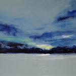 "Lesa Chittenden Lim, ""Sky IV"", 18 x 21"", watercolor"
